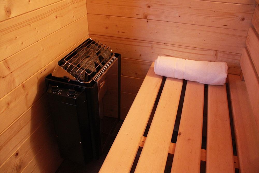 Sauna - detail